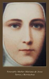 Fue agraciada con apariciones de NªSª en quito en las primeras décadas de los años 1600