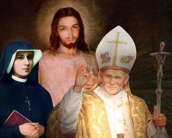La difusión de dos de las figuras en la composición pictórica, fueron prohibidas por el Santo Oficio TRES VECES. Dos por Pío XII. Una vez más en los años de posteriores a 1960. ¿La tercera figura es ampliamente reproducida hoy día. ¿Pero para siempre?