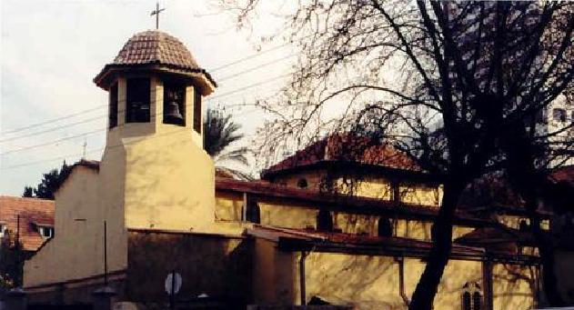 Iglesia de San Policarpo, Esmirna, actual Izmir en Turquía.