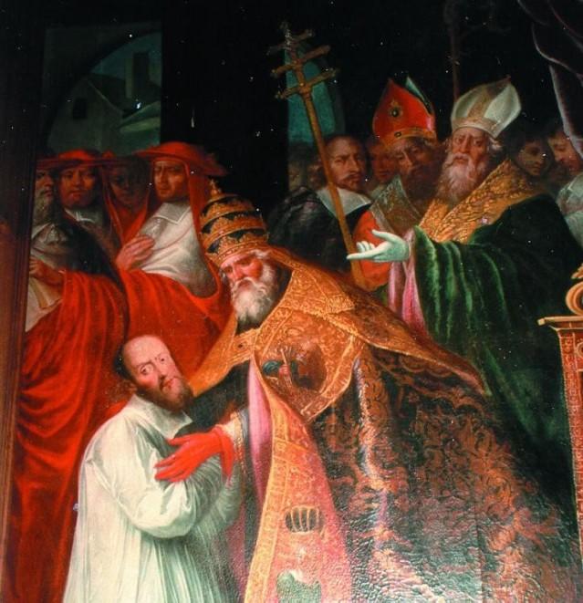 San Francisco recibe las bulas papales de su elevación al episcopado.