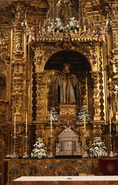 Retablo de la iglesia del convento de Santa Paula