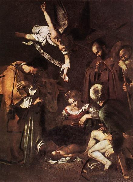 Natividad. Caravaggio. S. XVI