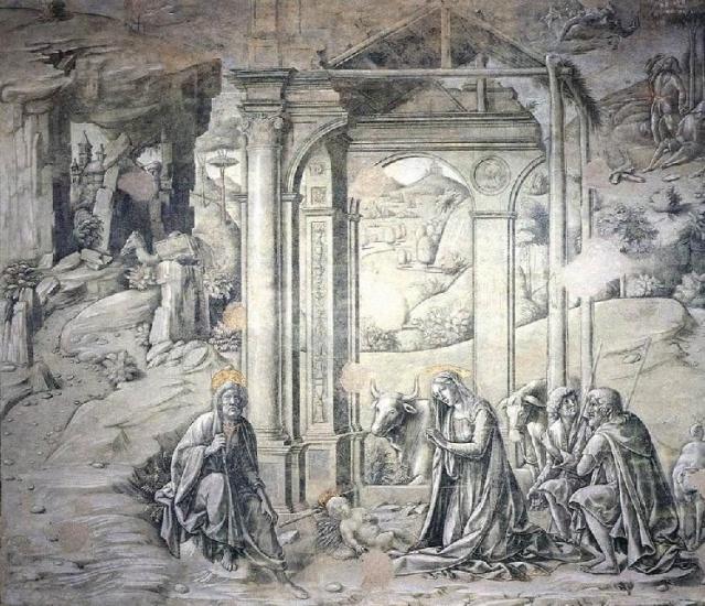 Natividad. Francesco Di Giorgio Martini. XV.