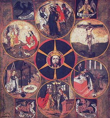 Meditación sobre San Nicolás de Flüe. Iglesia de Sachseln.