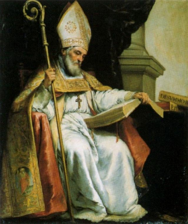 San Isidoro de Sevilla. Bartolomé Esteban Murillo. S. XVII