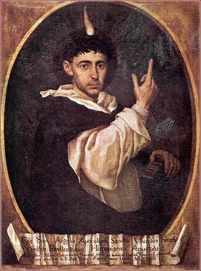 San Vicente Ferrer. Angel Maria Camponesqui. XIX.