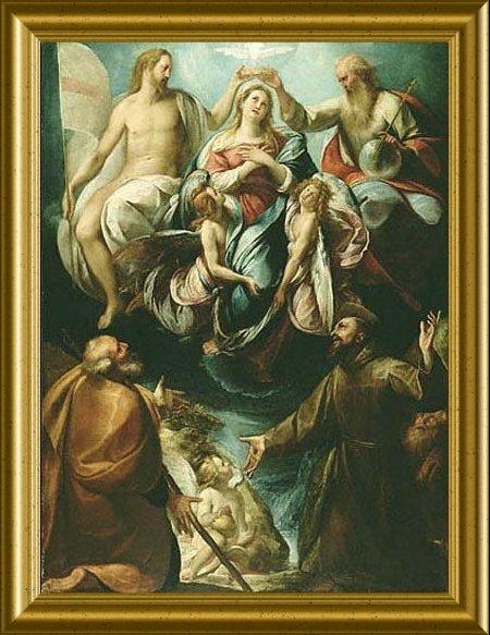 Julio Cesar Procaccini, Coronación de la Virgen Museo Getty