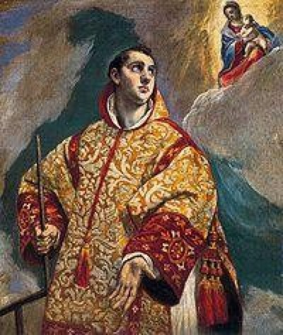 San Lorenzo. El Greco. XVI