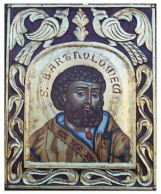 san bartolomé icono bizantino