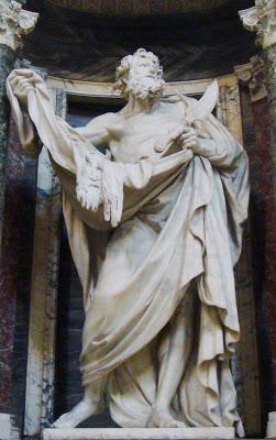 san bartolome- escultura