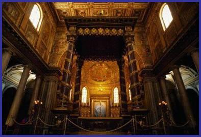 Altar de Santa María la Mayor