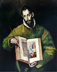 San Lucas. El Greco