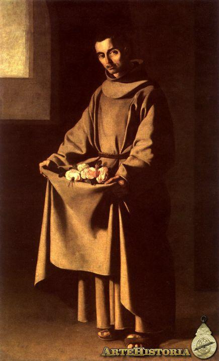 San Diego de Alcalá. Zurbarán. S. XVII
