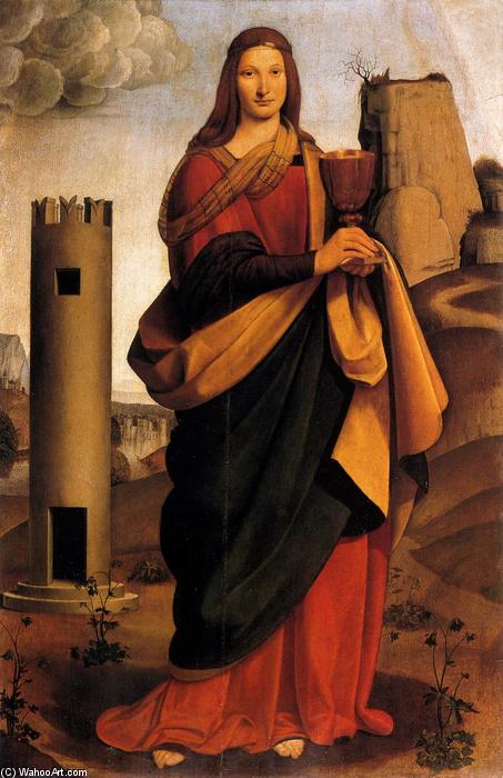 Santa Bárbara. Giovanni Antonio Boltrafiori