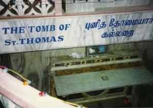 Tumba de Santo Tomás Apóstol venerada en Madrás ( India)