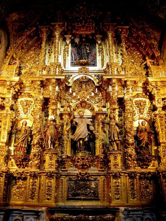 Retablo de la Iglesia de San Francisco Javier. Aro.