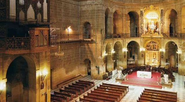 Interior de la Basílica de San Nicolás de Bari