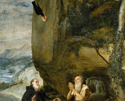 San Antonio y San Pablo. Velázquez.S.XVII.