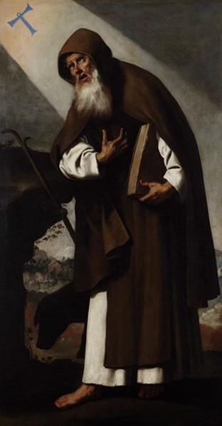 San Antonio. Francisco Zurbarán