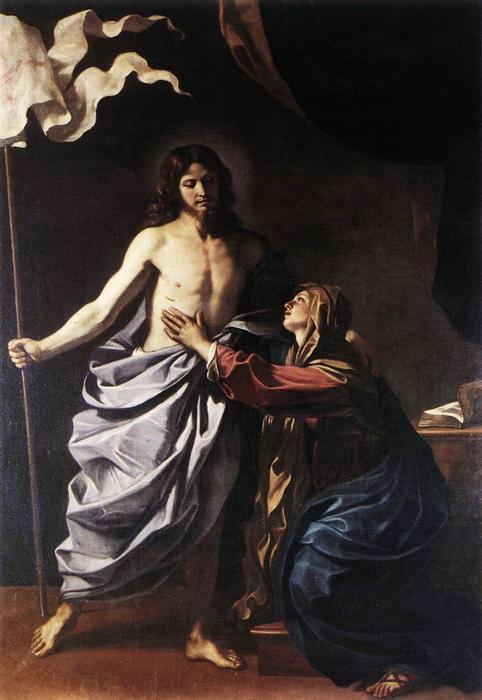 Barbieri: Cristo Resucitado aparece a su Madre