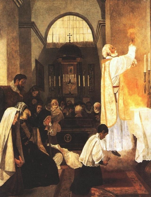 Misa de San Felipe. Joan LLimona