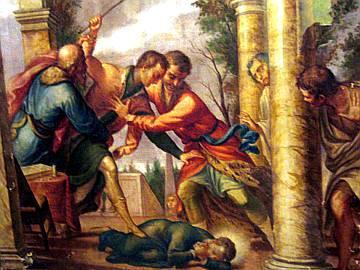 Pablo maltrata a su hermano Estanislao