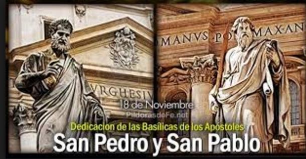 Dedicación Basílica de san Pedro