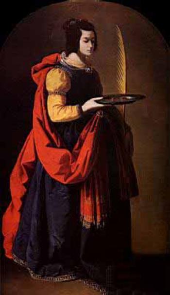 Santa Lucīa, Bartolomé Murillo, 1633
